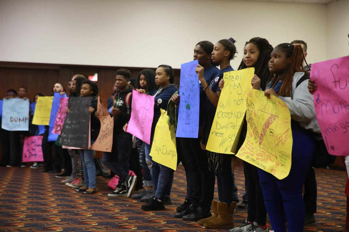 Gallery: Students from Steel City Academy attend Gary City Council meeting.