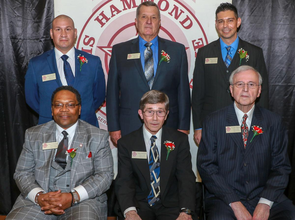 Hammond Hall of Fame banquet