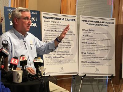 Holcomb unveils modest agenda for upcoming legislative session