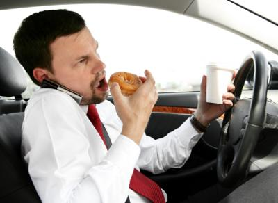 Road Rants: Multitasking at its finest