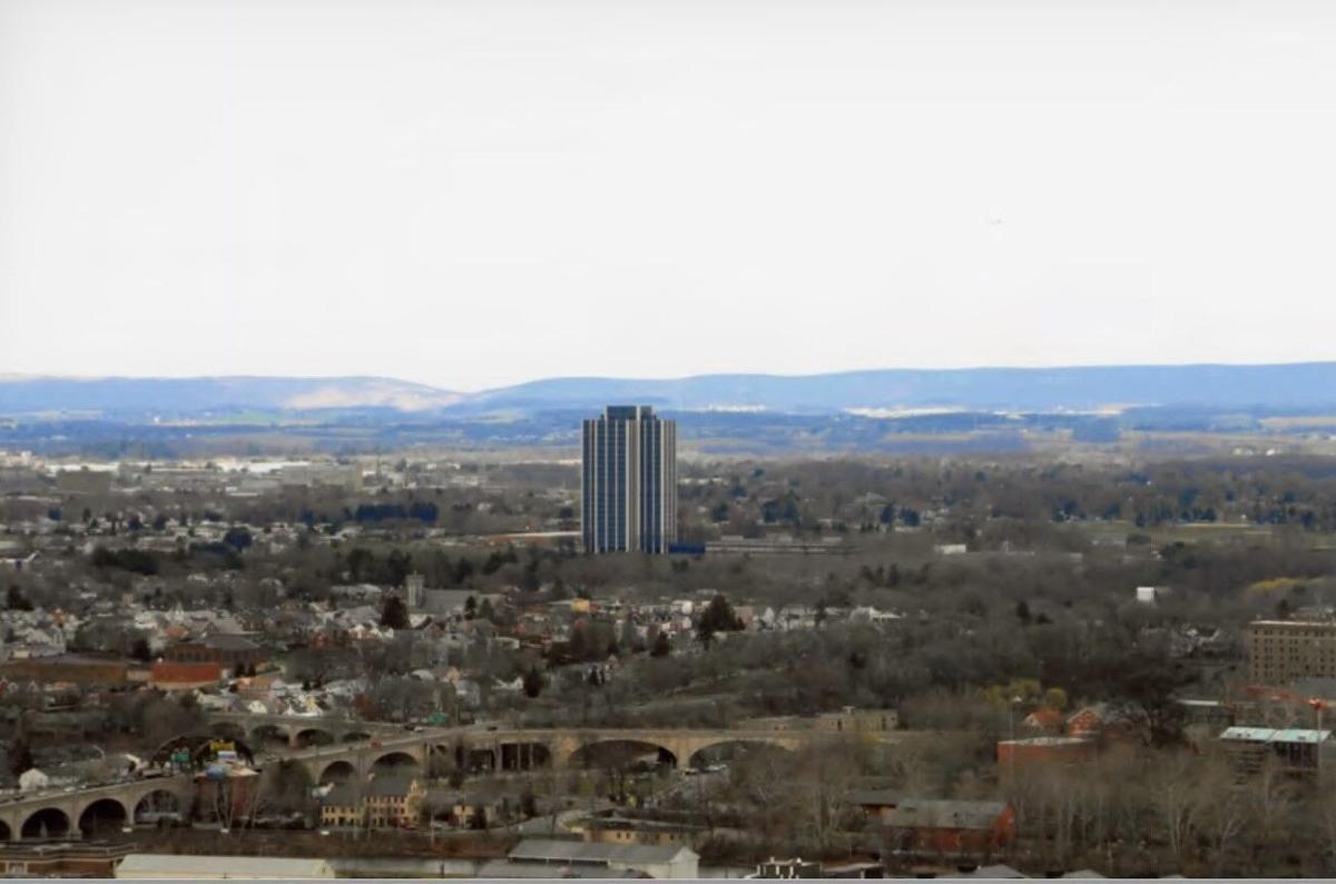 Bethlehem Steel headquarters razed