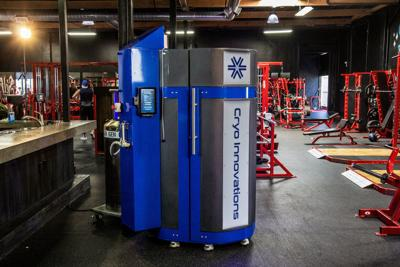 NWI Cryotherapy & Fitness treating aches and pains with 230-degree cold