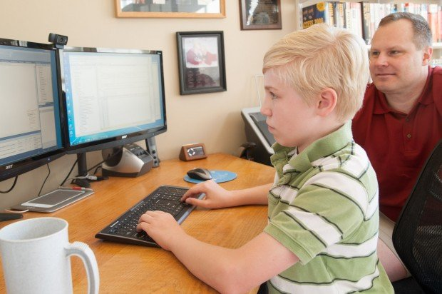 Chesterton Sixth Grader Takes College Computer Class