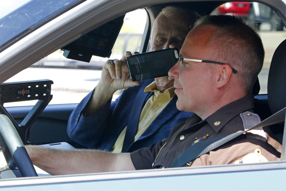 New hybrid vehicles for Porter County Sheriff's Department