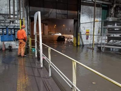 Gary Works has largest blast furnace up and running after flooding