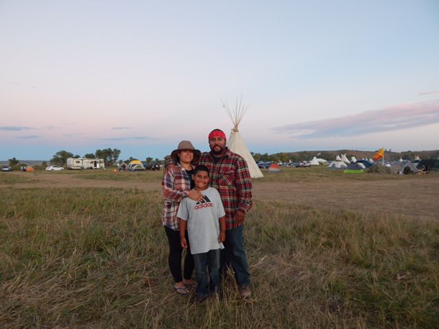 DeMotte family stands with Dakota Access opponents