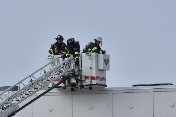 Large Fire response to Cedar Lake Restaurant