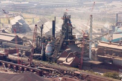 Great Lakes steel production dropped by 7,000 tons