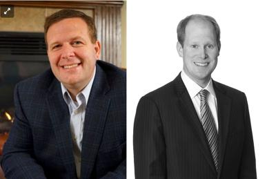 Portage Mayor James Snyder and Attorney Thomas Kirsch II