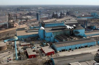 Steel production drops by 1.4% in the Great Lakes