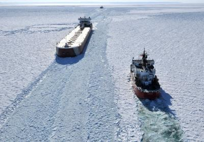 Great Lakes icebreaking season kicks off