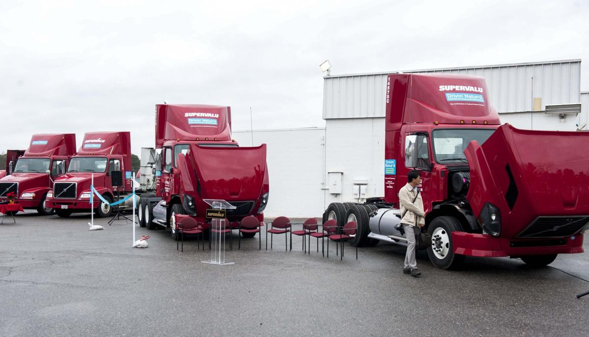 SUPERVALU Unveils Region's Largest Natural Gas Powered Truck Fleet and New Fill Station