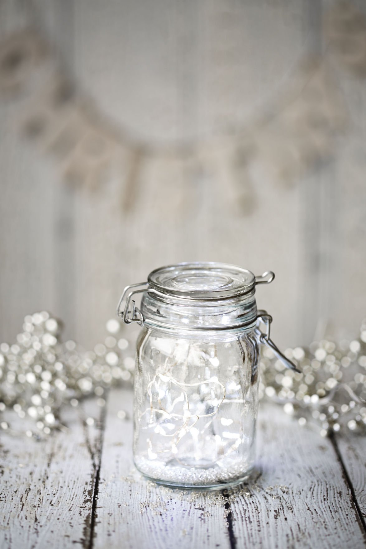 Use your glass containers to make stunning holiday décor | Home and ...