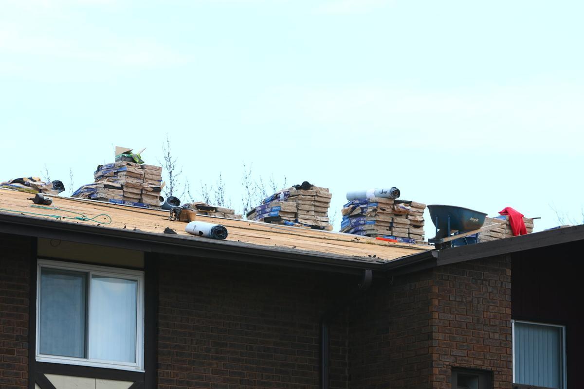 Hampton in Highland roof