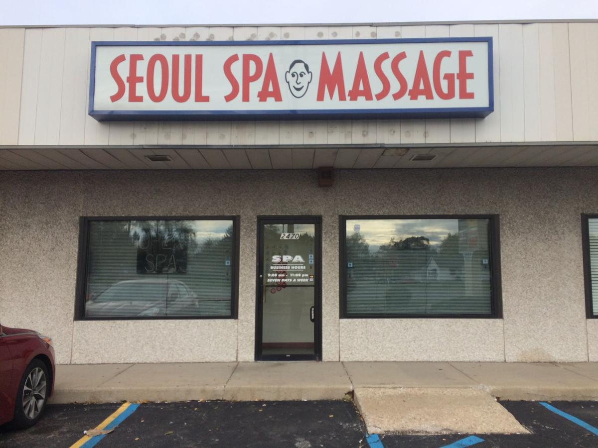 Lights out, door locked at Merrillville spa a day after police raid