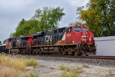 CN Freight Train stock