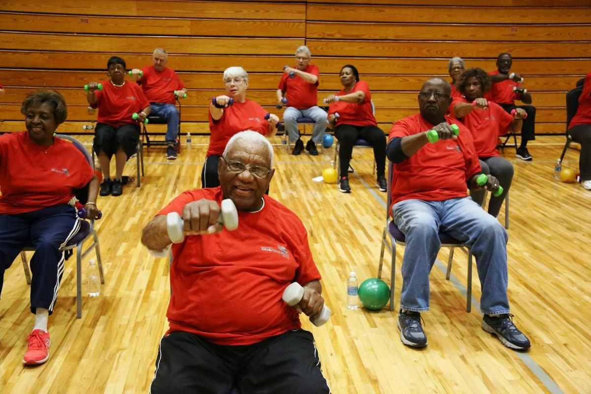 Senior fitness class promotes active wellness and support