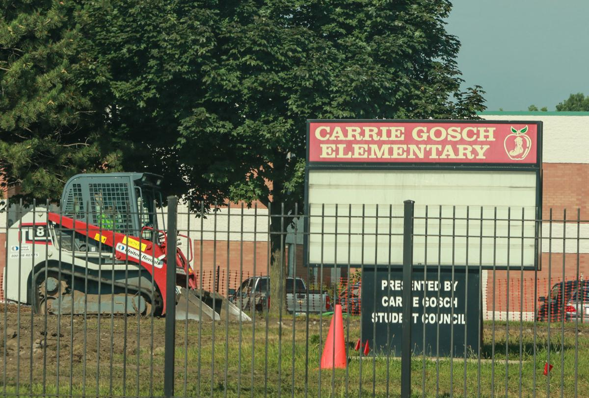 EPA excavating contaminated soil at the former Carrie Gosch Elementary School