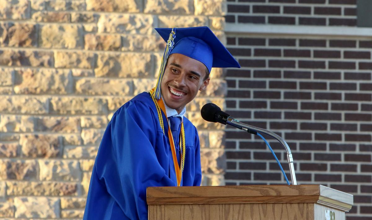 Indiana School's First Black Valedictorian Celebrates 'Last Dance' With Class of 2021 as School is Set to Close