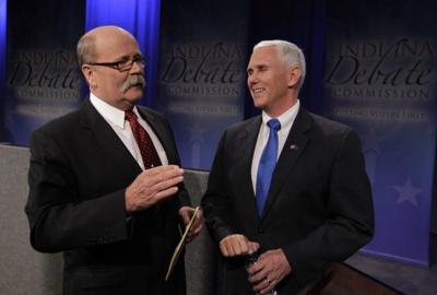 Mike Pence, John Gregg