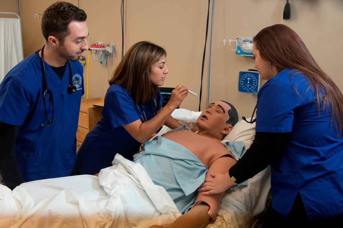 Health care professions are seeing a boost in enrollment