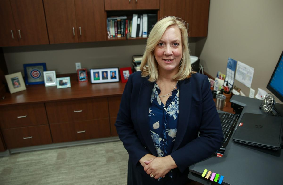 Cathy Tinsley was treated for a precancerous lesion in her breast that was caught by a mammogram