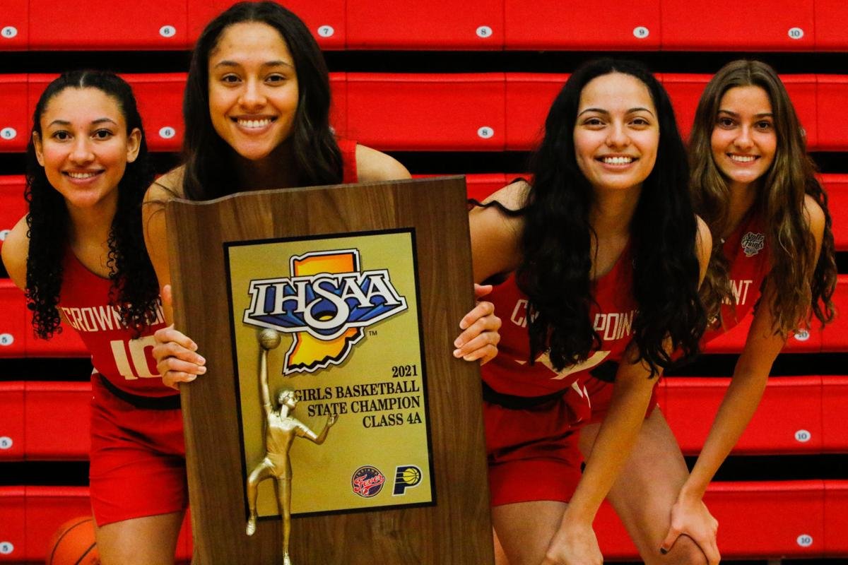 CP girls basketball post-championship pomp and circumstance