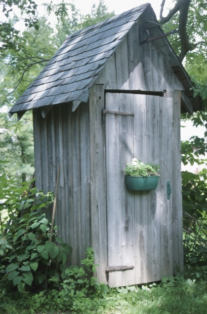 Outhouses Smokehouses Bomb Shelters Oddball Spaces Are