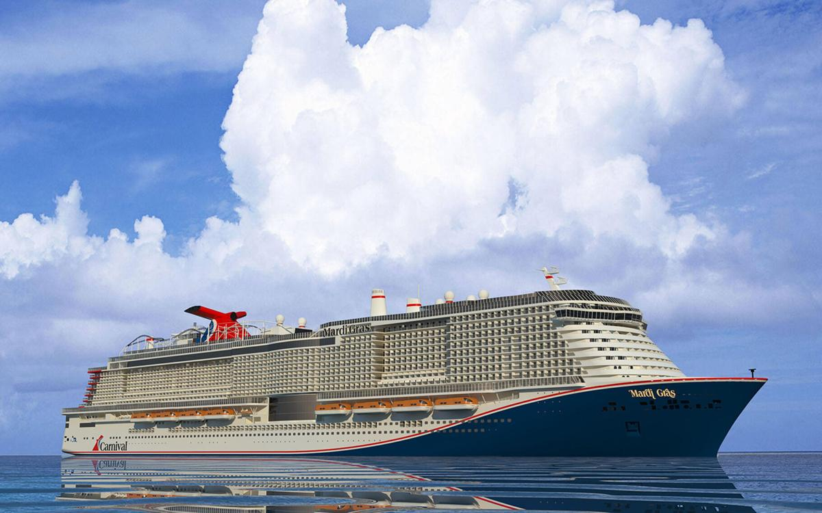 Carnival Cruise Line's new ship Mardi Gras was set to make its fall debut at Port Canaveral.