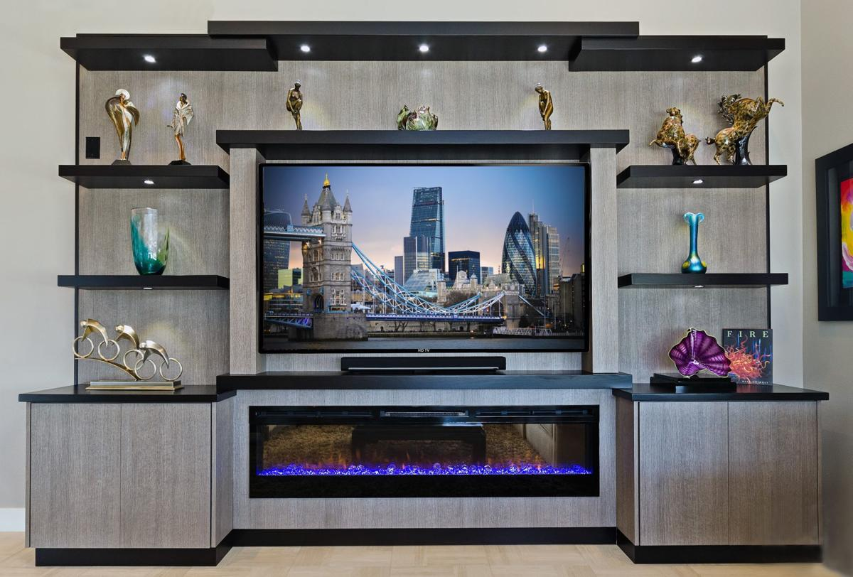 At Home with Marni Jameson: What Every Entertainment Center Should Have