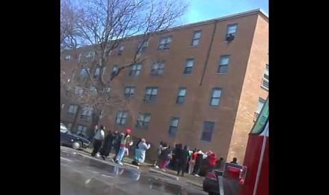 UPDATE: Two children dead, child jumps off fourth floor in Miller fire that displaced 113