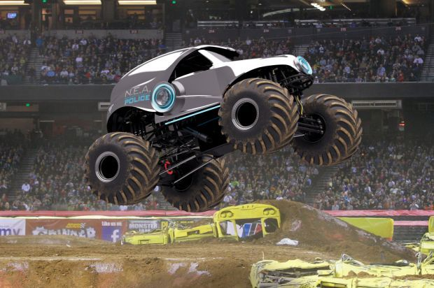 90922776 Wheel-ality show: Monster Jam truck show ready for Allstate Arena  excitement this weekend