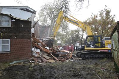 Gary housing demolition