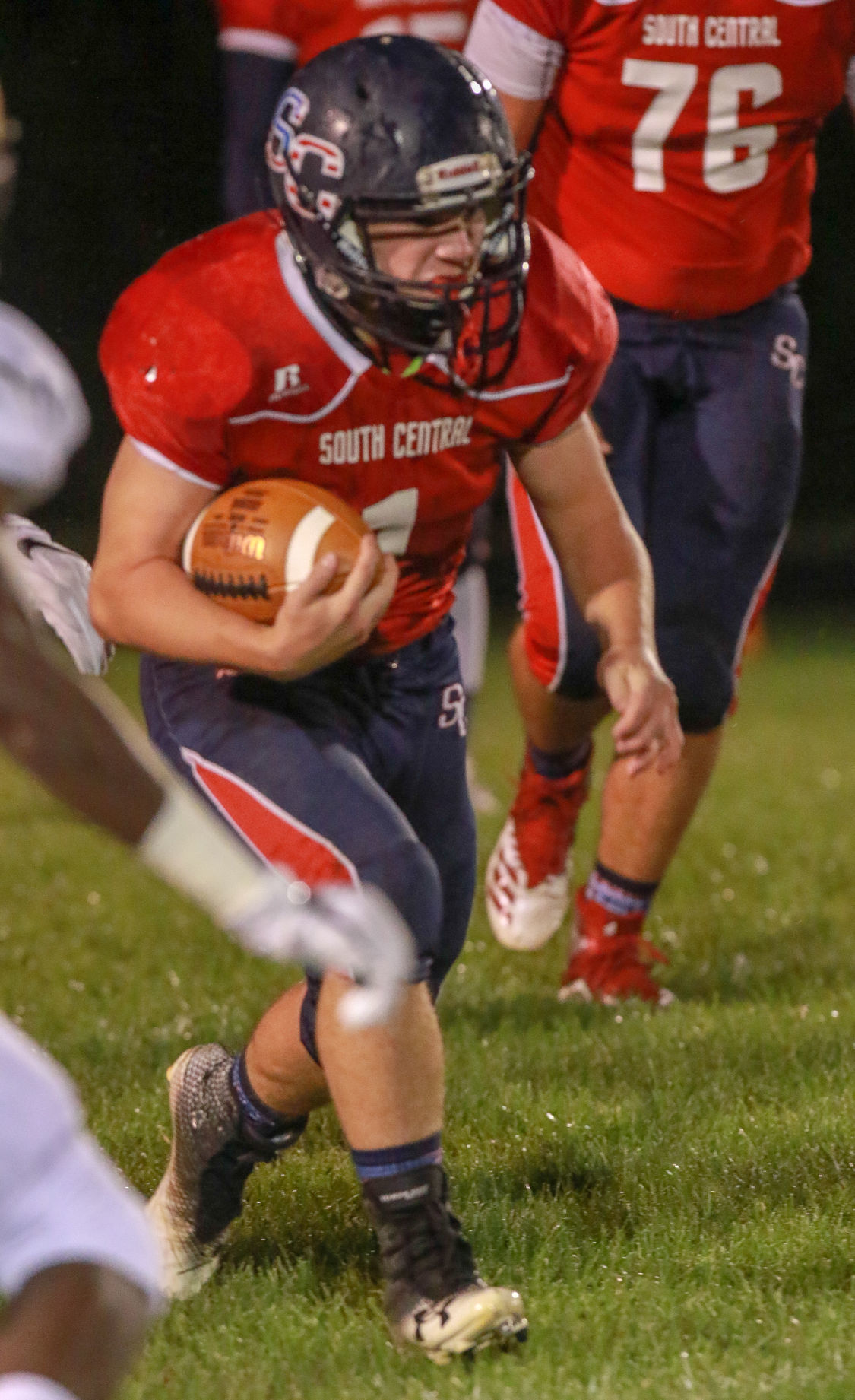 Football - Griffith at South Central