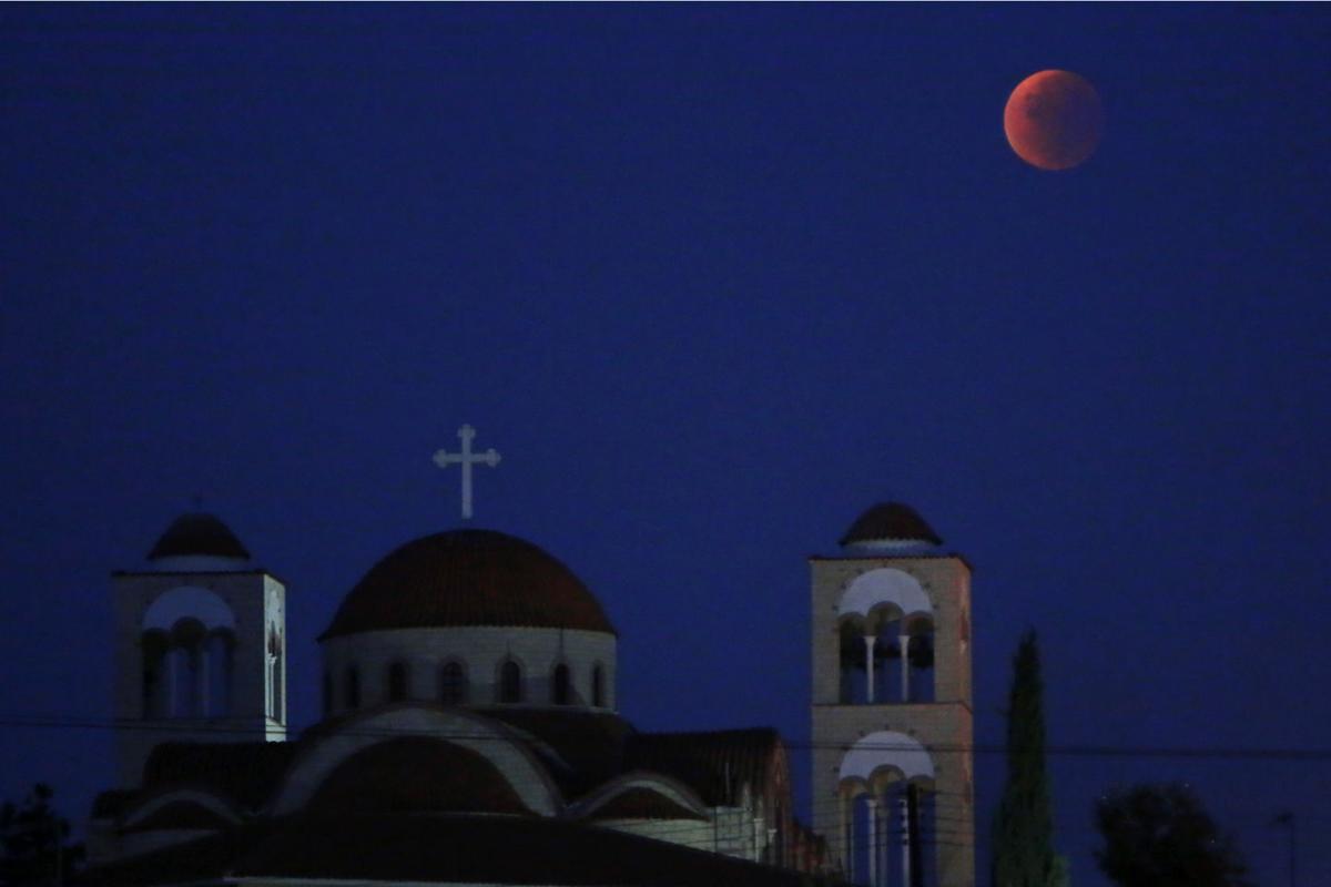 Cyprus Supermoon Eclipse