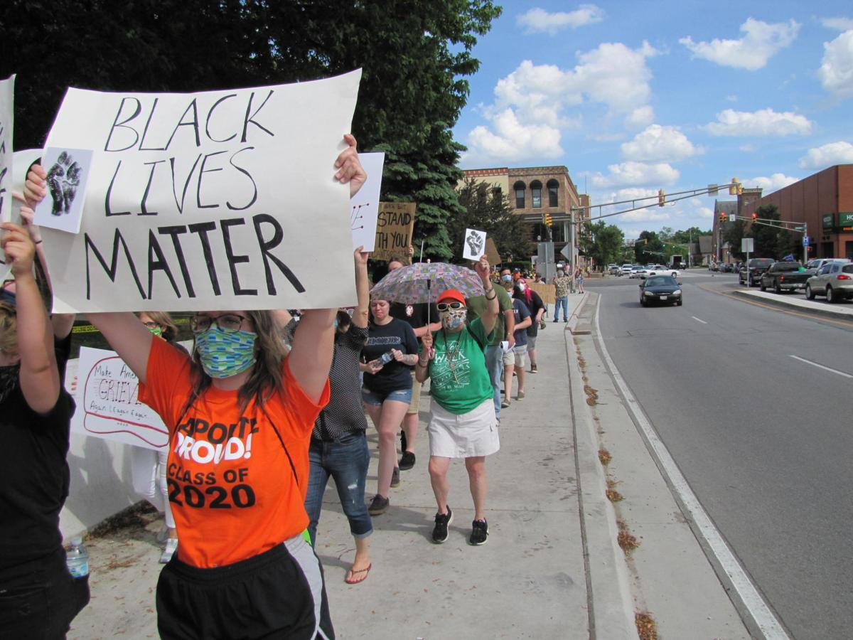 Hundreds turn out for Black Lives Matter protest in LaPorte