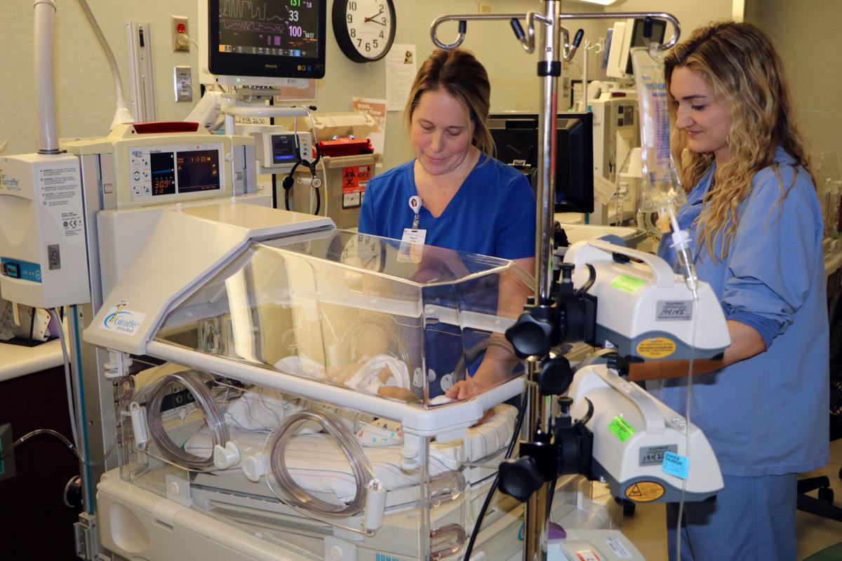 Community Hospital designed as Level III Neonatal Intensive Care Unit