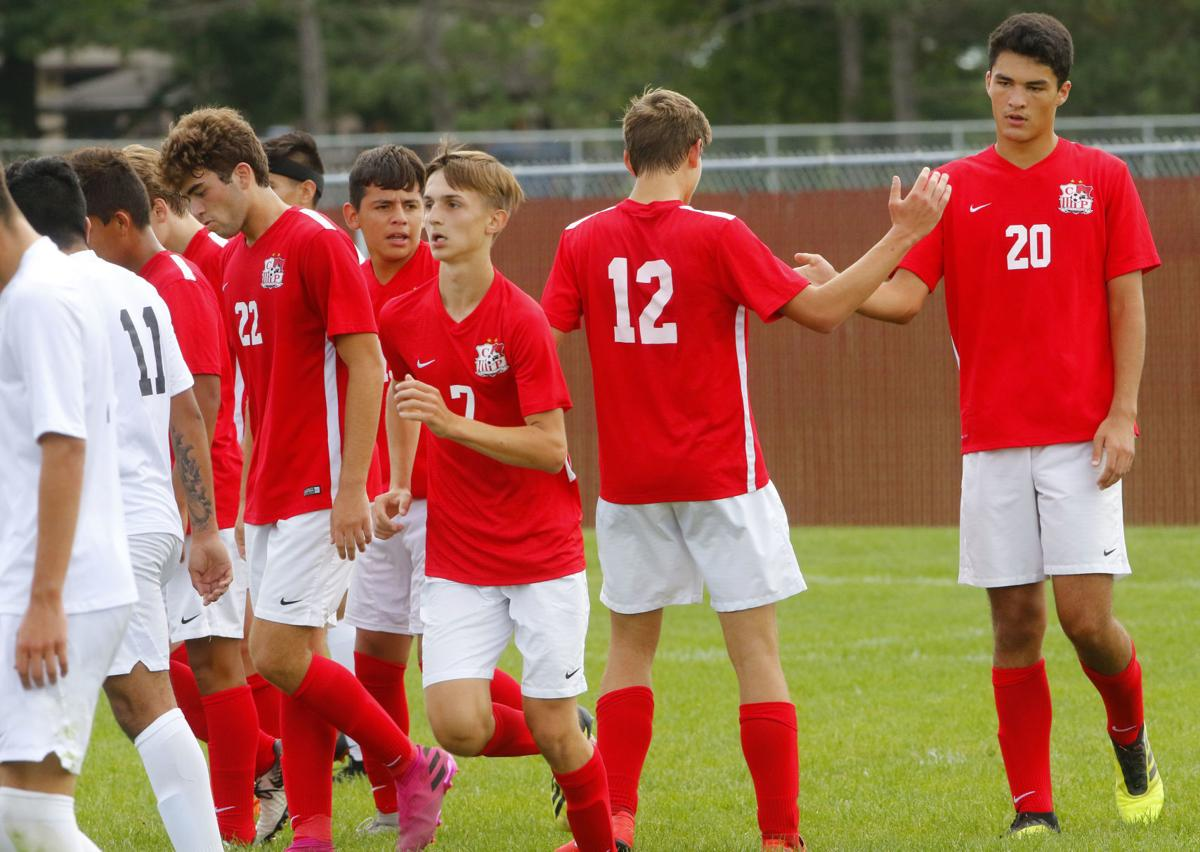 Morton at Crown Point boys soccer