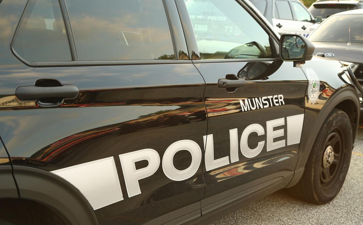 STOCK Police - Munster POlice Car