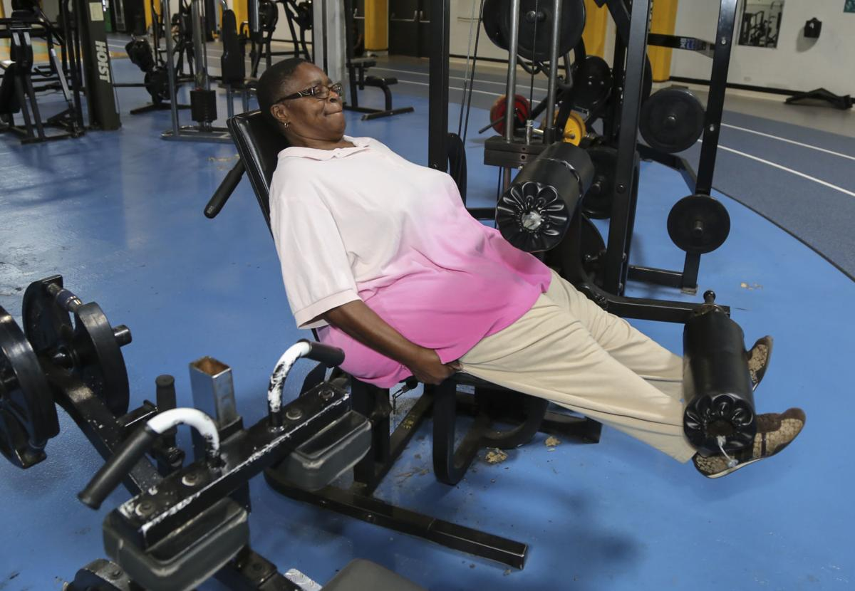 Linda Collins-Brown, a contestant in The Times' Lose 19 in '19 weight-loss challenge