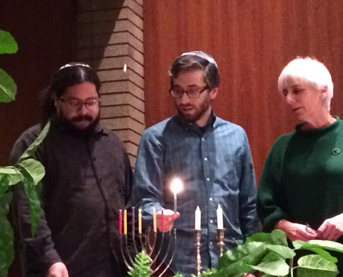 Hanukkah lights up the season with fun, a call to action