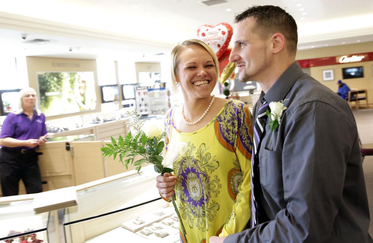 Valentine's Day nuptials at Albert's Diamond Jewelers (copy)