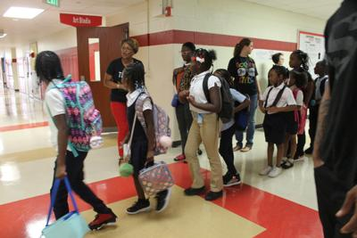 Back to school: Frankie McCullough Academy