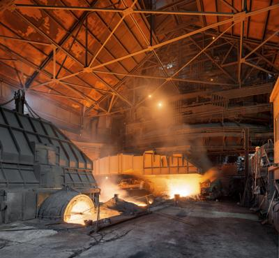 Great Lakes steel output falls to 656,000 tons