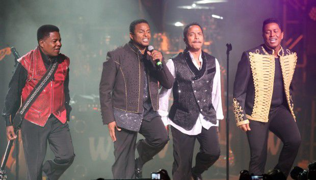 Jacksons perform at the Star Plaza Theatre