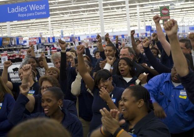 Crowd Cheers Grand Opening Of Hammond Walmart Hammond