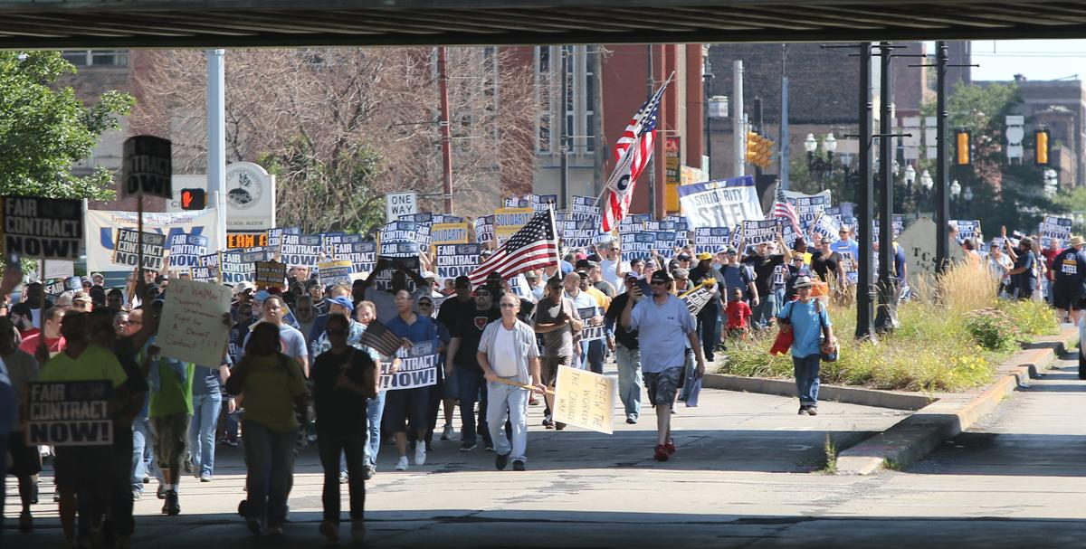 USW says it stood up and demanded fair treatment