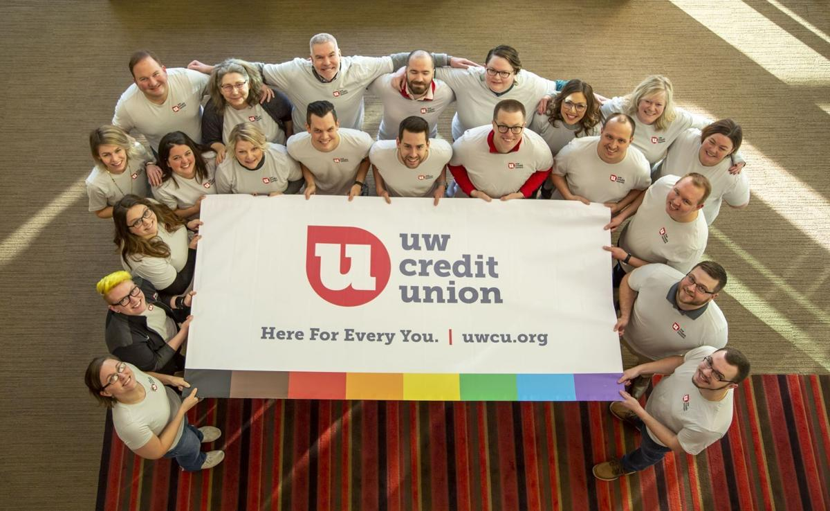 UW Credit Union display 2