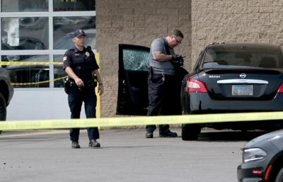 Hobart police investigating shooting near mall