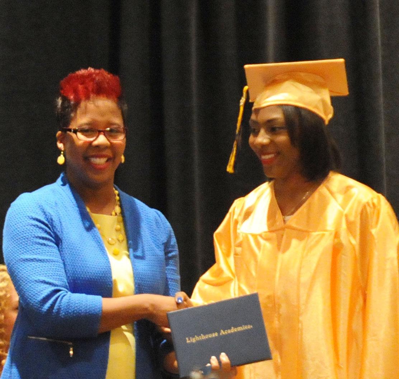 Shining a beacon on education   Graduation   nwitimes.com